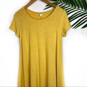 Old Navy Mustard Yellow Dress Small